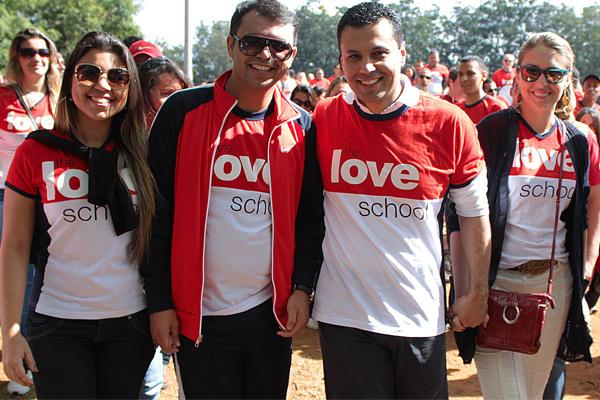 Caminhada do Amor- The Walk Love com Bruno Figueredo e Renato Cardoso e Cristiane Cardoso