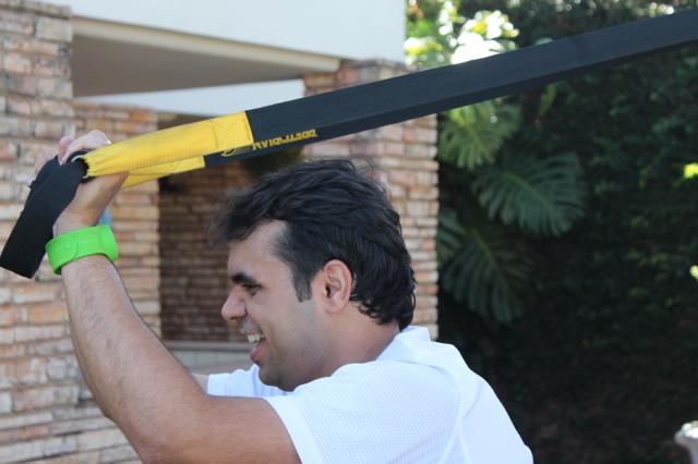 Bruno Figueredo troca academia tradicional pelo treinamento funcional.