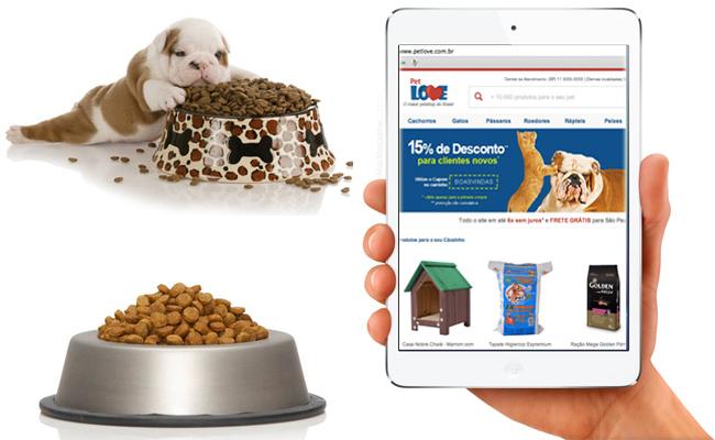 Onde comprar ração de cachorro mais barata na internet, dicas de sites.
